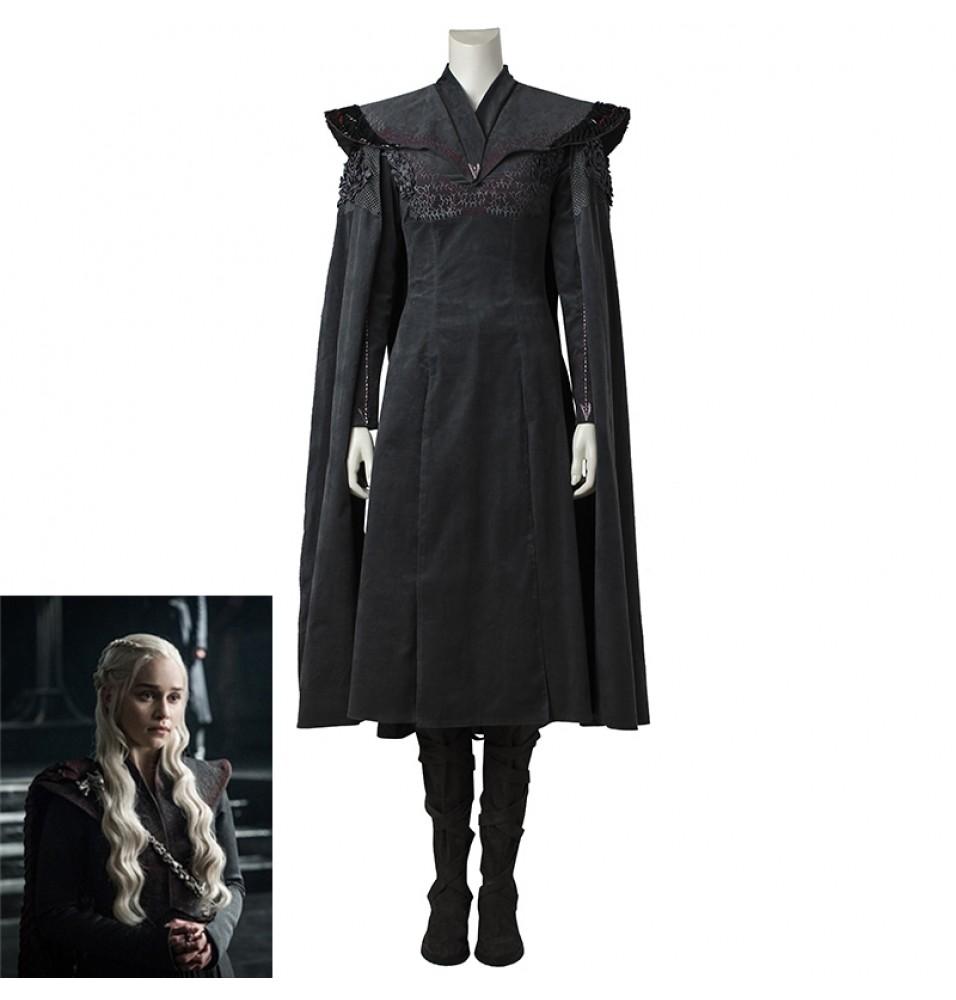 Game of Thrones 7 Daenerys Targaryen Cosplay Costume Deluxe