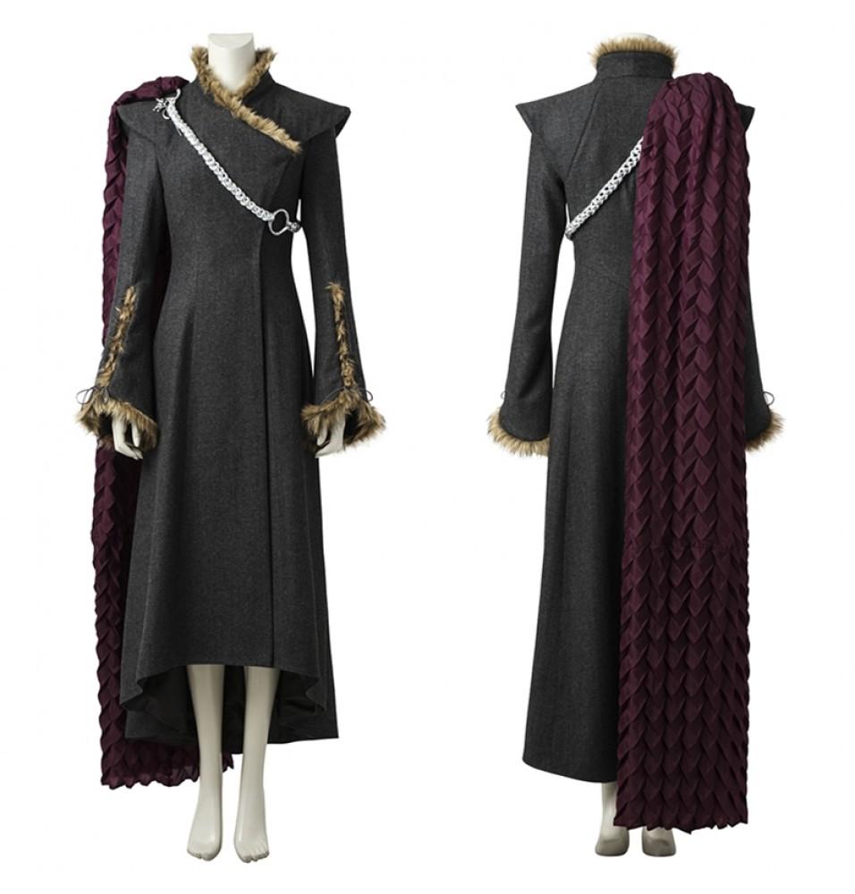 Game Of Thrones 7 Daenerys Targaryen Cosplay Costume