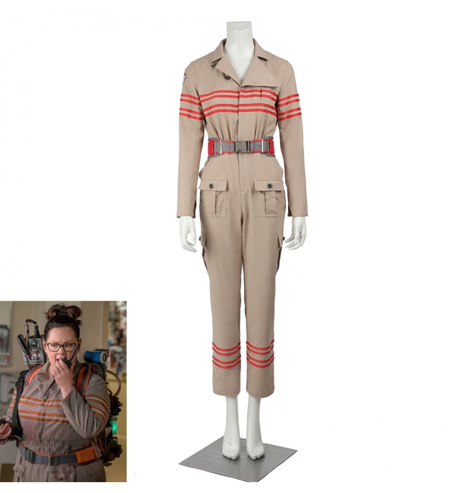 Ghostbusters III Cosplay Costume Abby Yates Patty Tolan Uniform