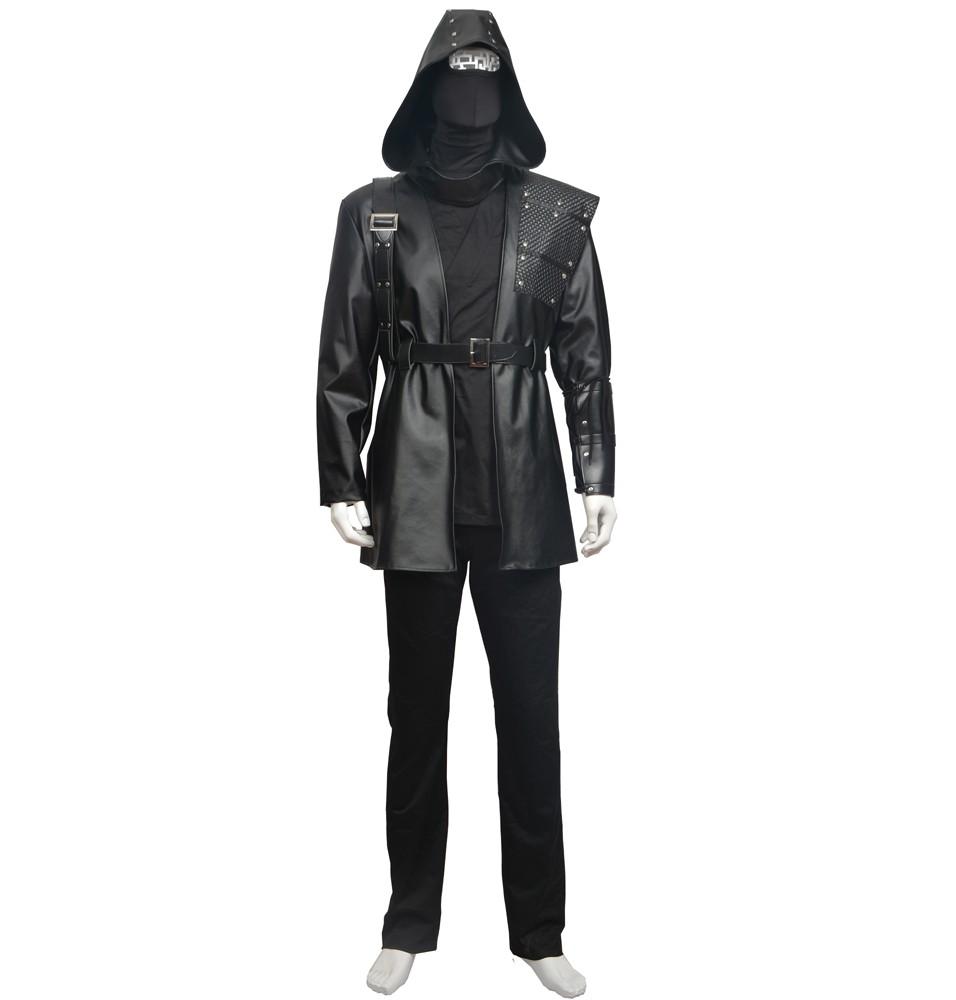 Green Arrow Season 3 Black Arrow Cosplay Costume