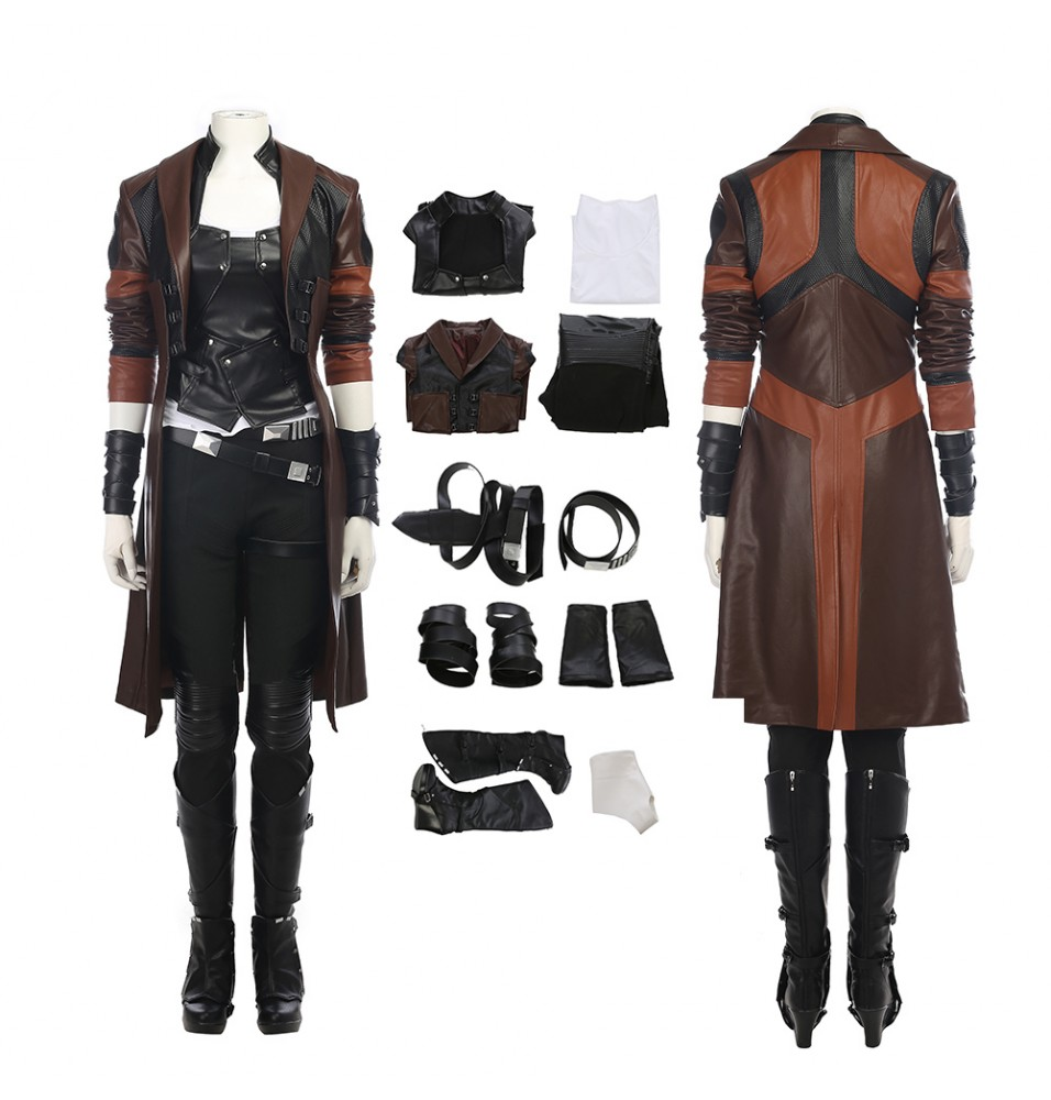 Guardians of The Galaxy 2 Gamora Cosplay Costume Full Set