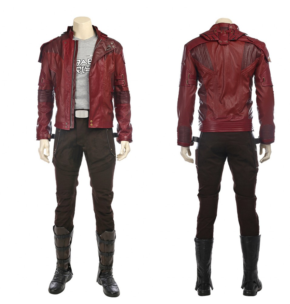 Guardians of The Galaxy 2 Star Lord Cosplay Costume Peter Quill Costume