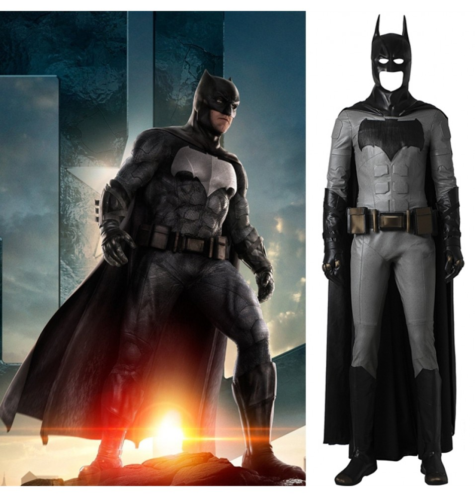 Justice League Batman Cosplay Costume Deluxe Outfit