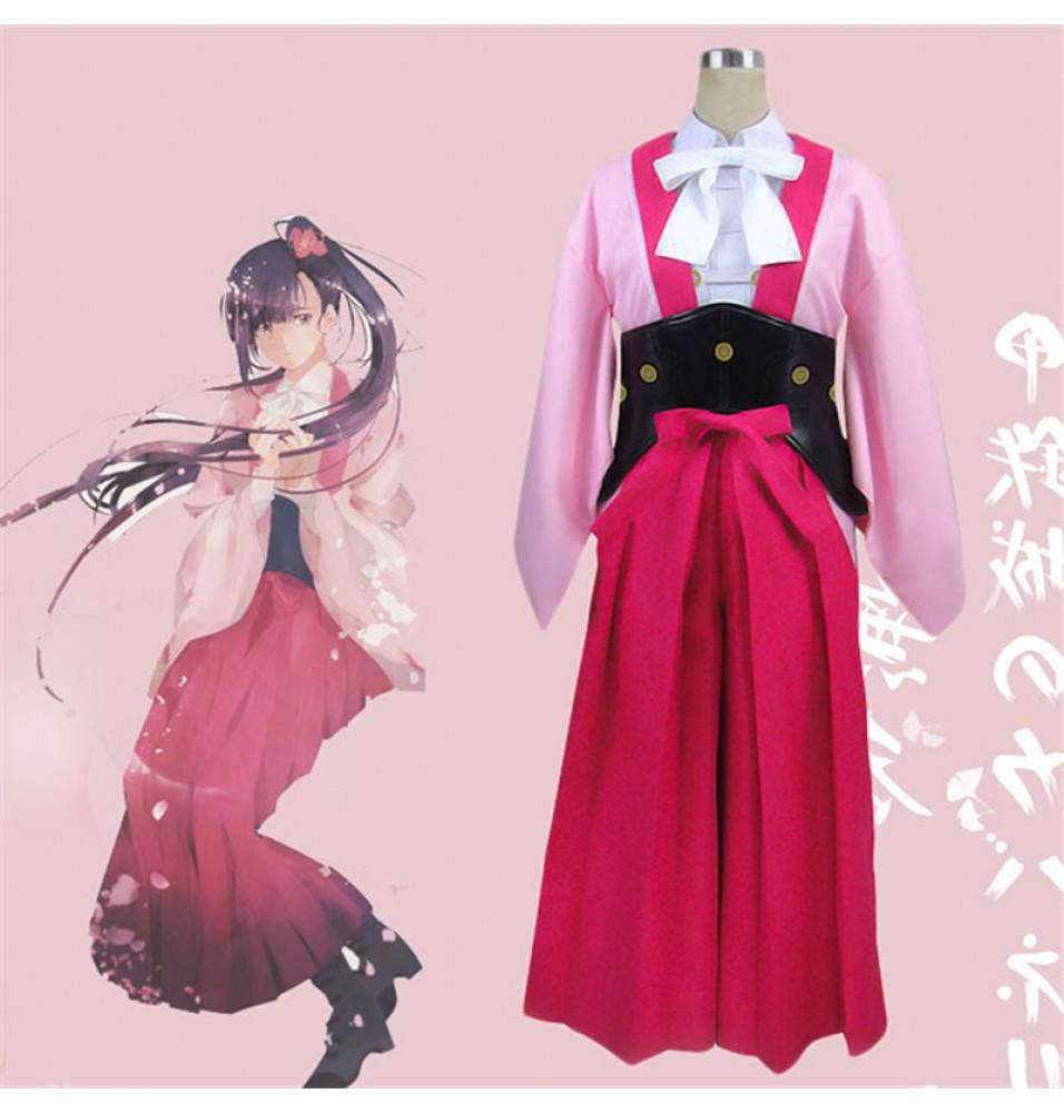 Kabaneri of the Iron Fortress Ayame Dress Cosplay Costume