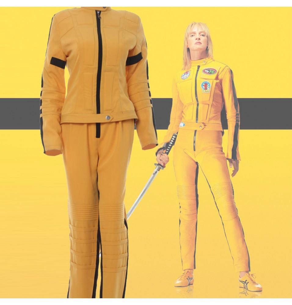 Kill Bill The Bride Yellow Cosplay Costume