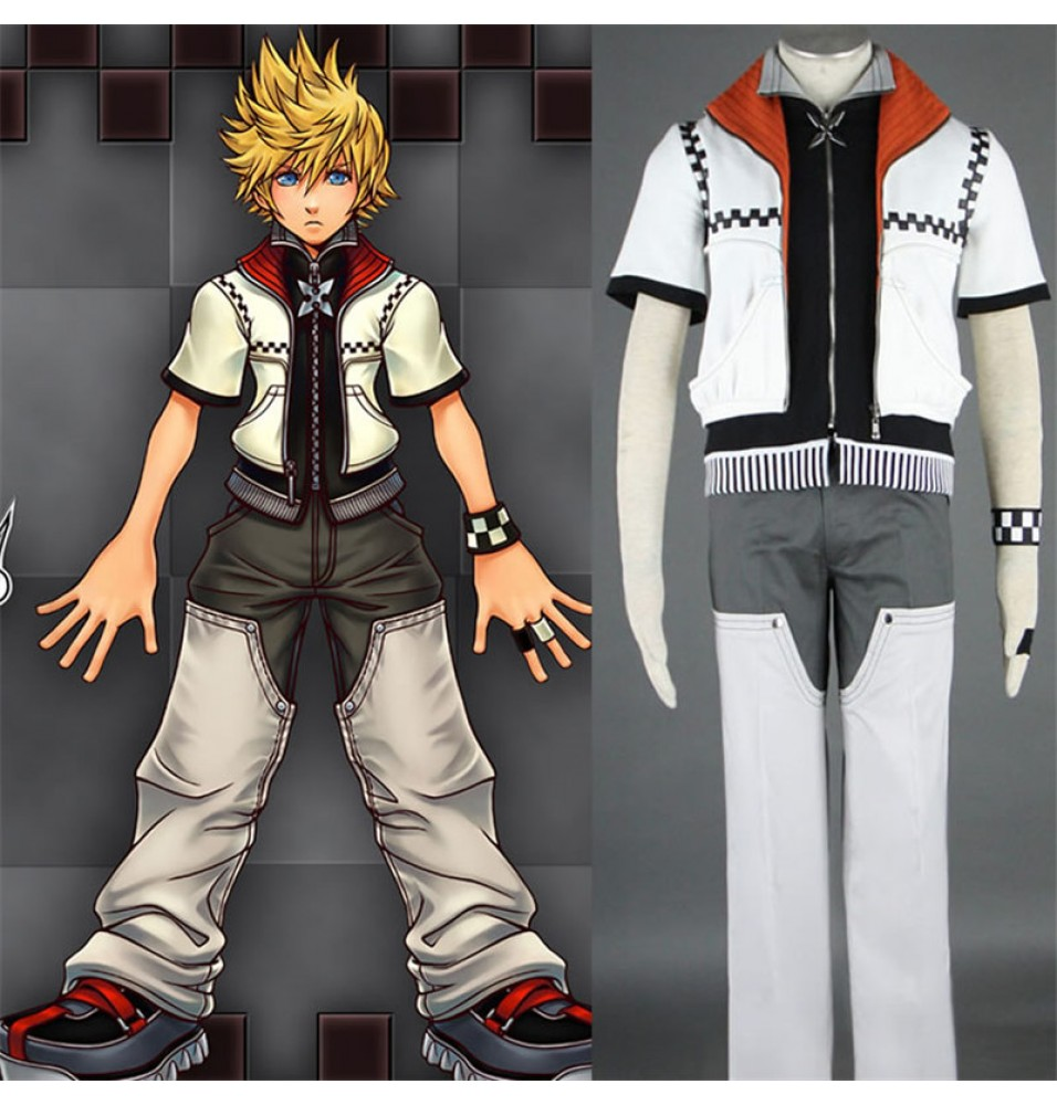 Kingdom Hearts II Roxas Outfit Cosplay Costume