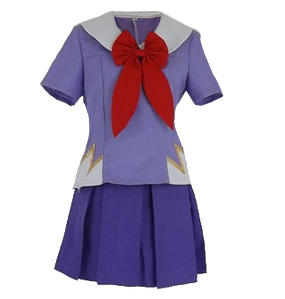 Mirai Nikki The Future Diary Gasai Yuno Cosplay Dress Costume