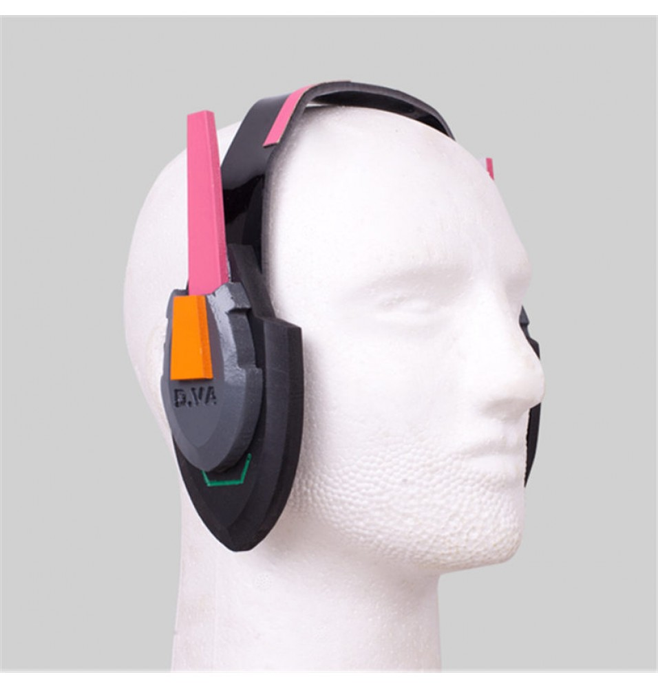 Overwatch D.Va Headset Cosplay Hana Song Prop