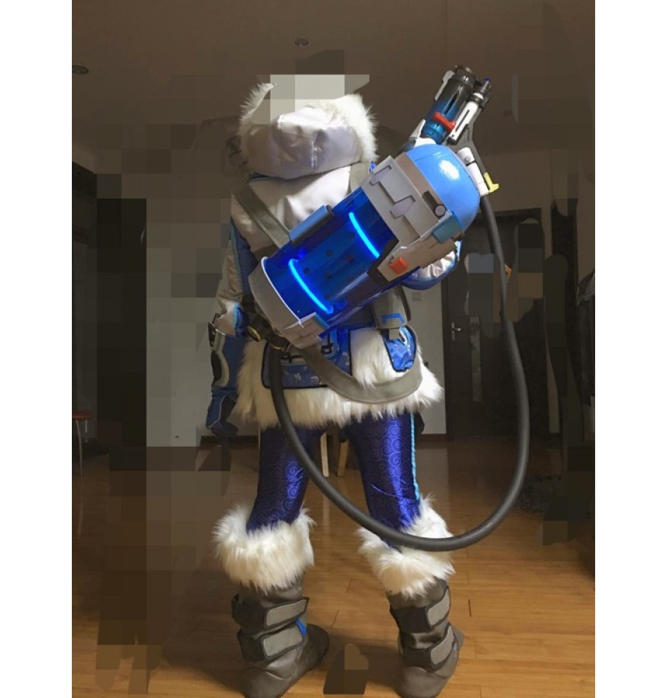 Overwatch Mei Endothermic Blaster Weapon Cosplay Gun Props