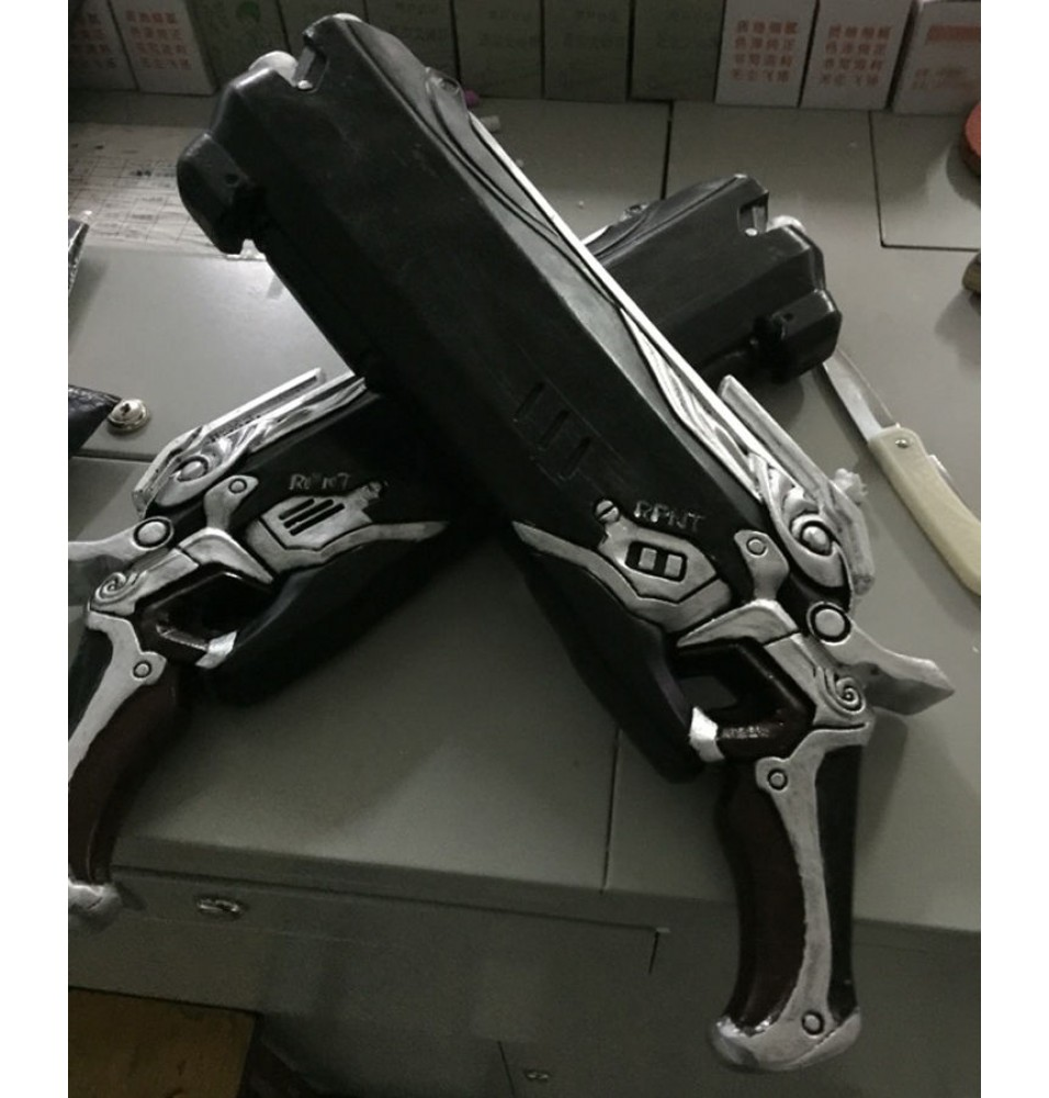 Overwatch Reaper Guns Cosplay Prop
