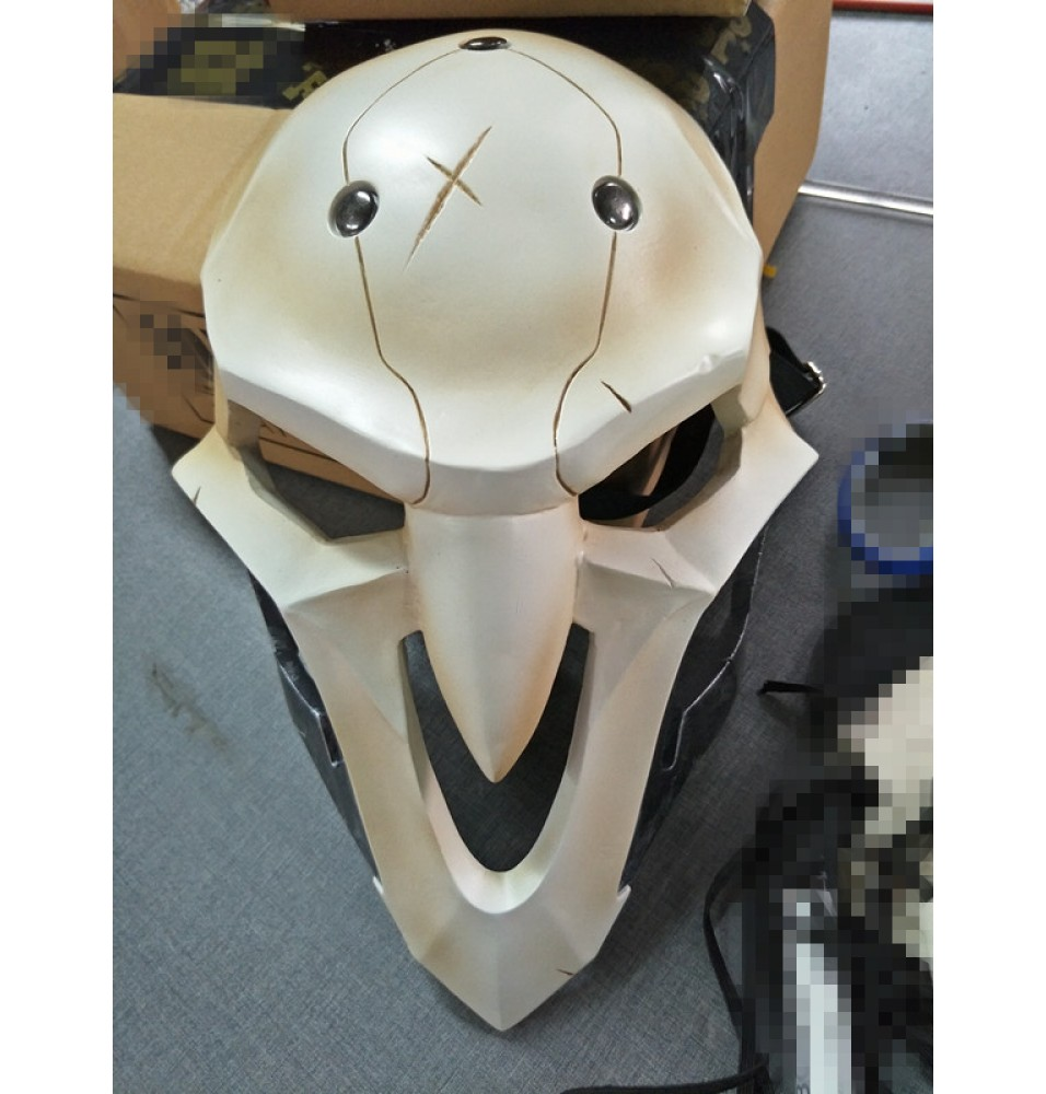 Overwatch Reaper Mask Masquerade Cosplay