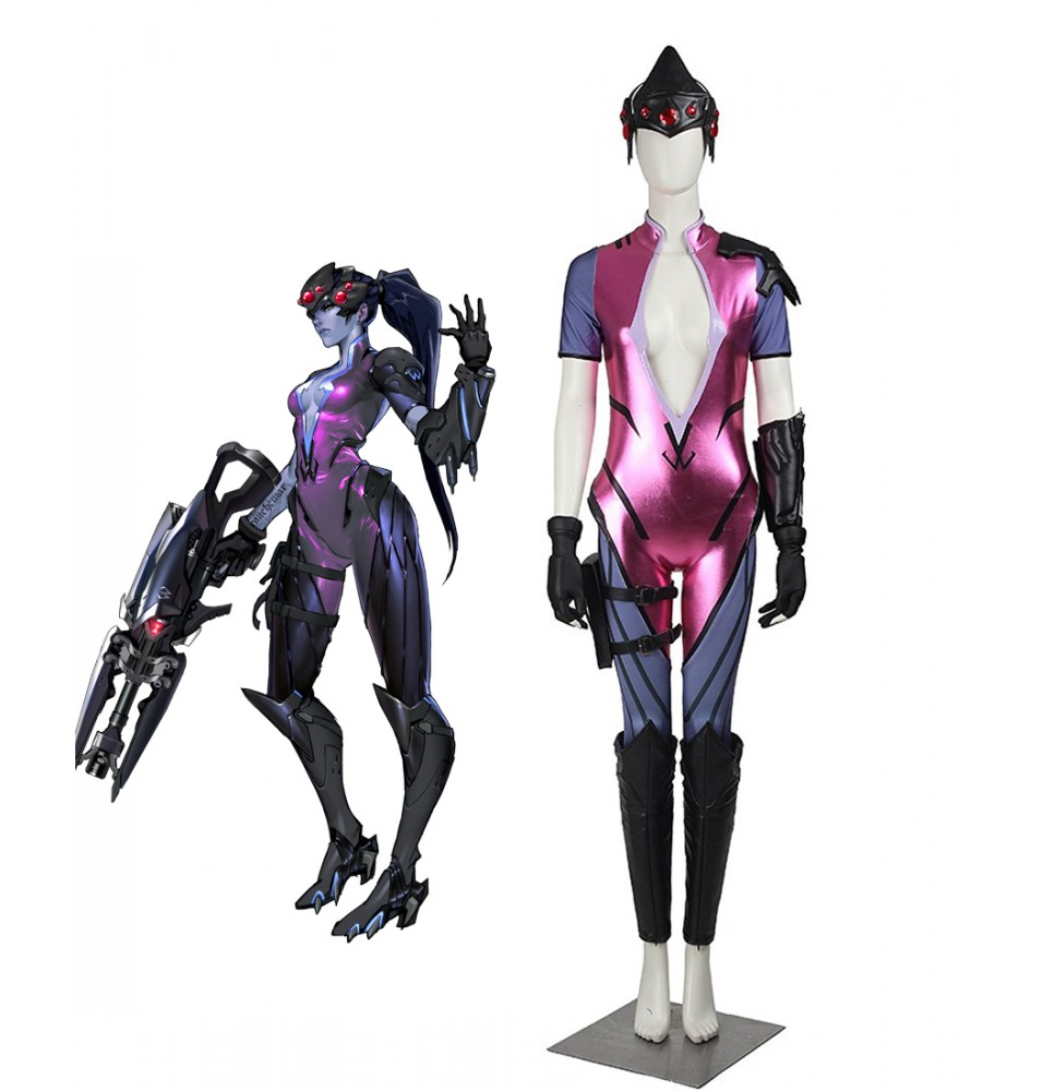 Overwatch Widowmaker Amelie Lacroix Cosplay Costume