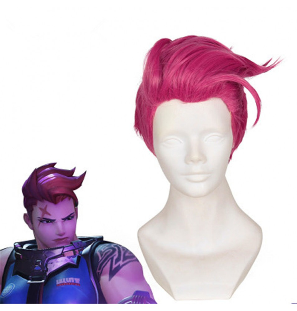 Overwatch Zarya Cosplay Wigs