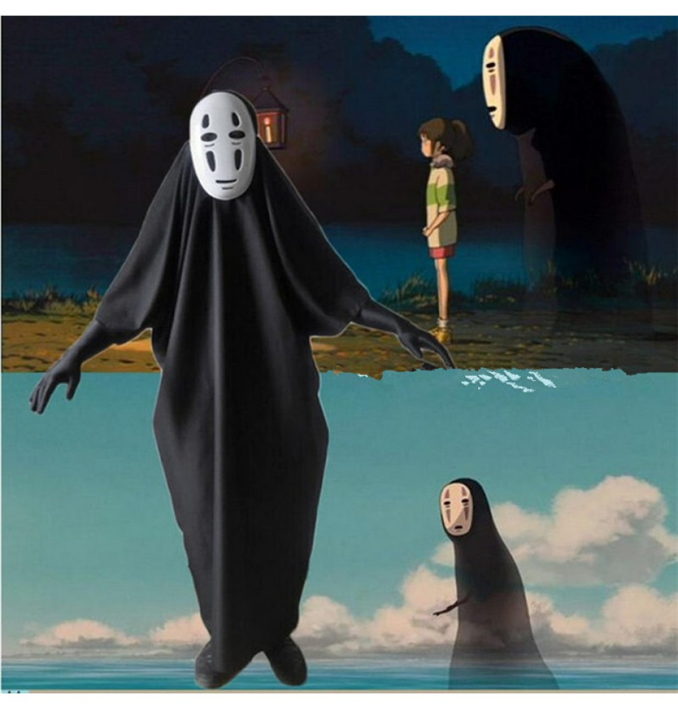 Spirited Away No Face Cosplay Costumes