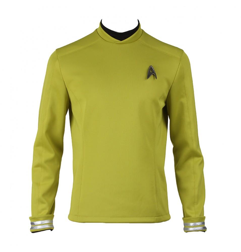 Star Trek Beyond James Tiberius Kirk Hikaru Sulu Uniform Cosplay Costume