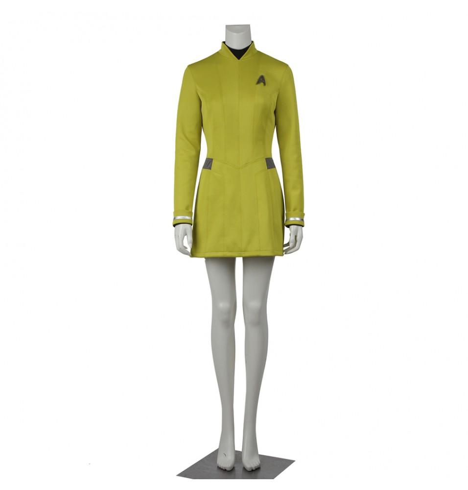 Star Trek Beyond Yellow Dress Uniform Cosplay Costume