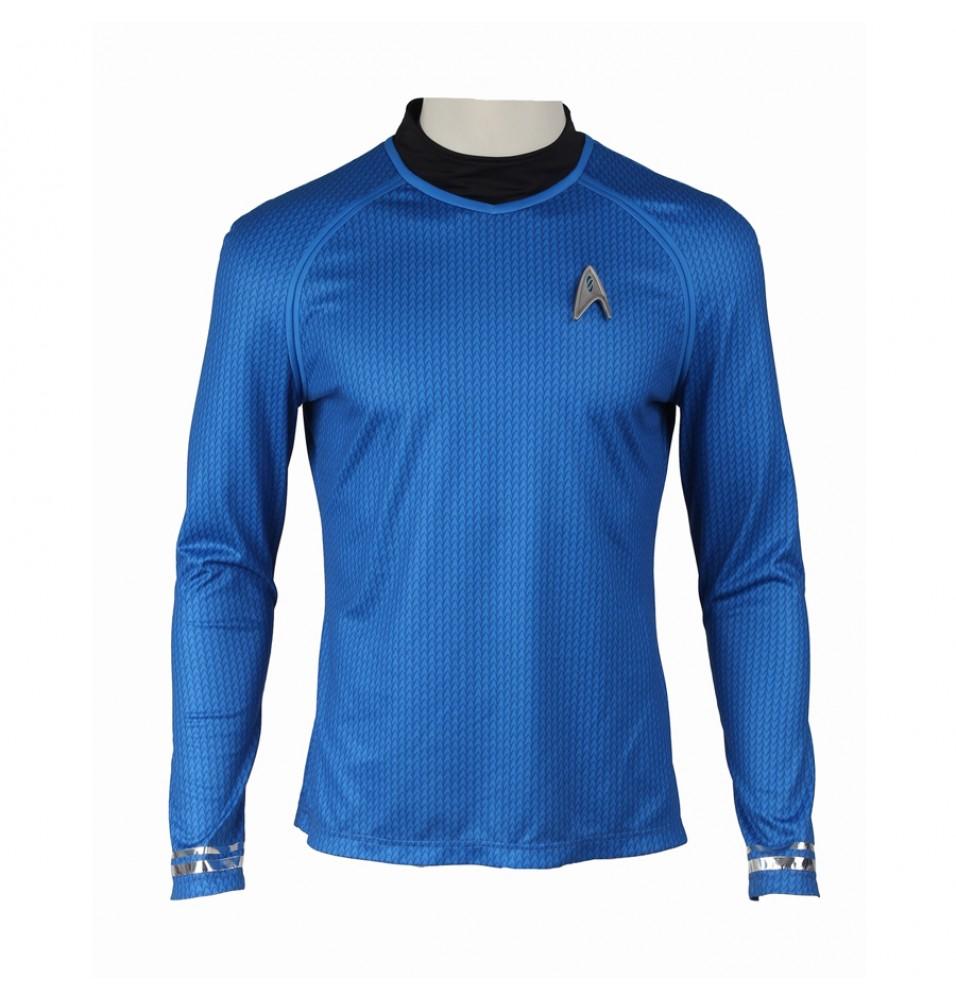 Star Trek Into Darkness Leonard H. McCoy Bones Spock Blue Uniform Costume
