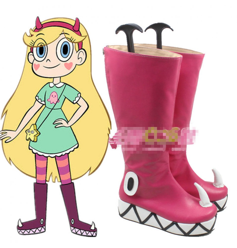 Star vs. The Forces of Evil Princess Star Butterfly Boots Cosplay