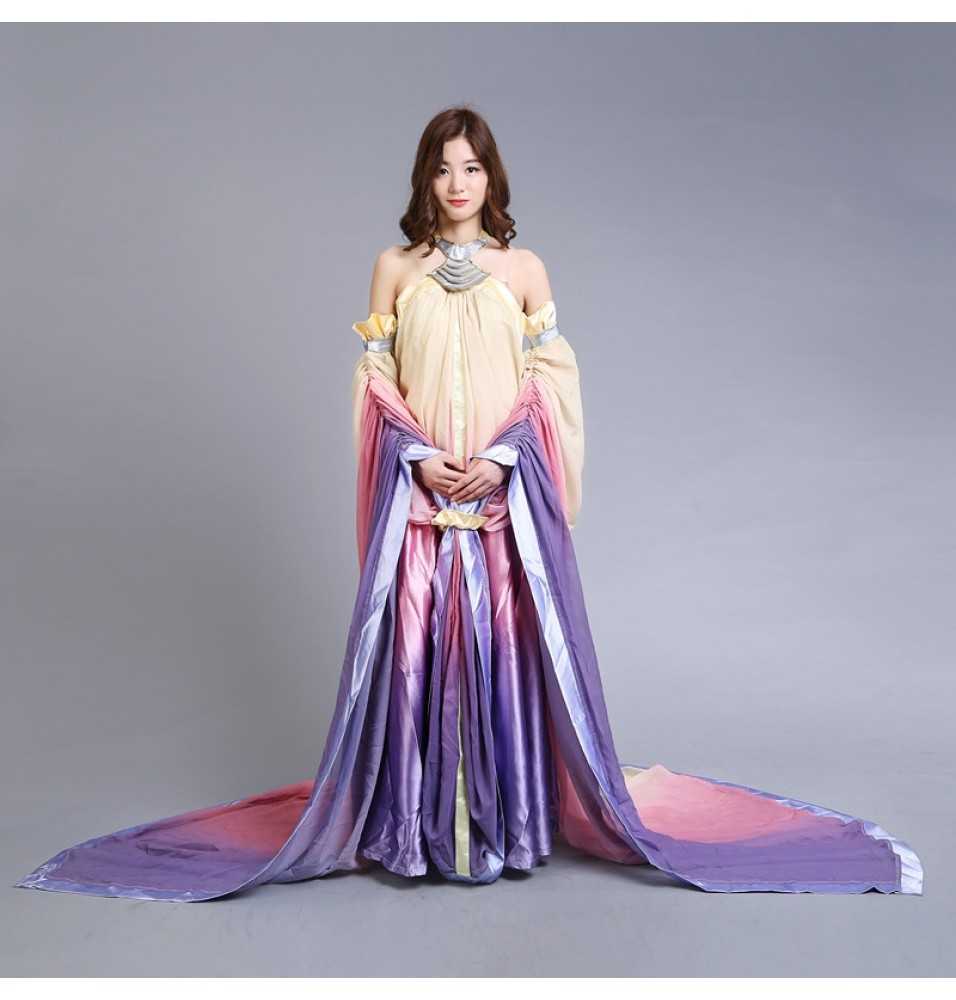 Star Wars Padme Amidala Cosplay Costume Dresses