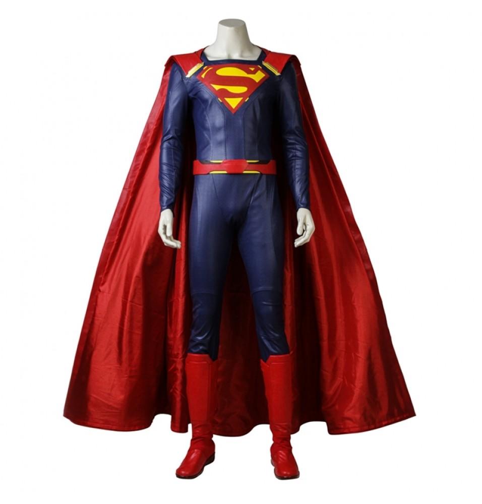 Supergirl Season 2 Superman Costume Clark Kent Cosplay Costume