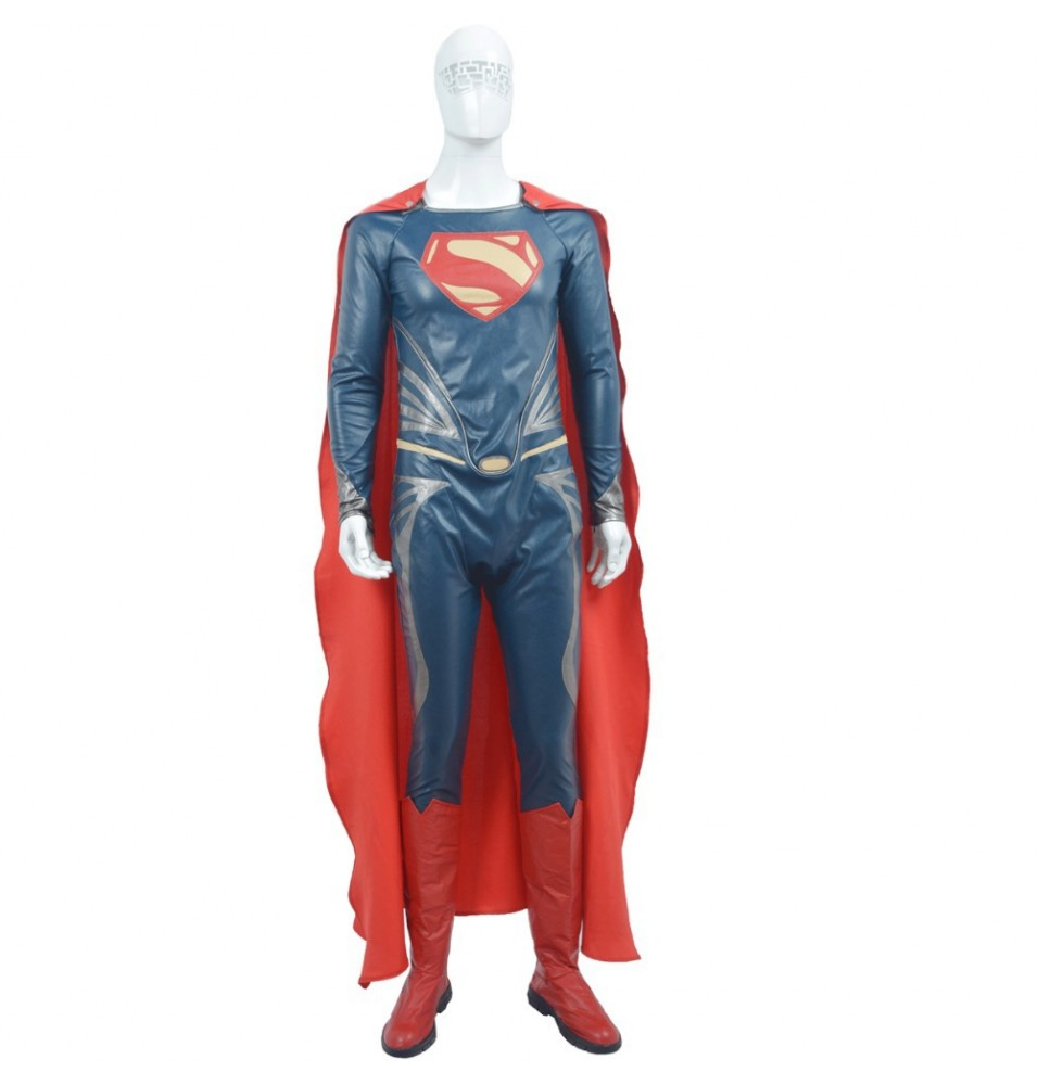 Superheroes Superman Cosplay Costume Custom Outfit