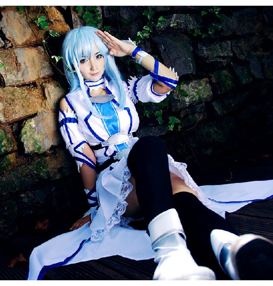 Sword Art Online ALO Asuna Yuuki Cosplay Costumes