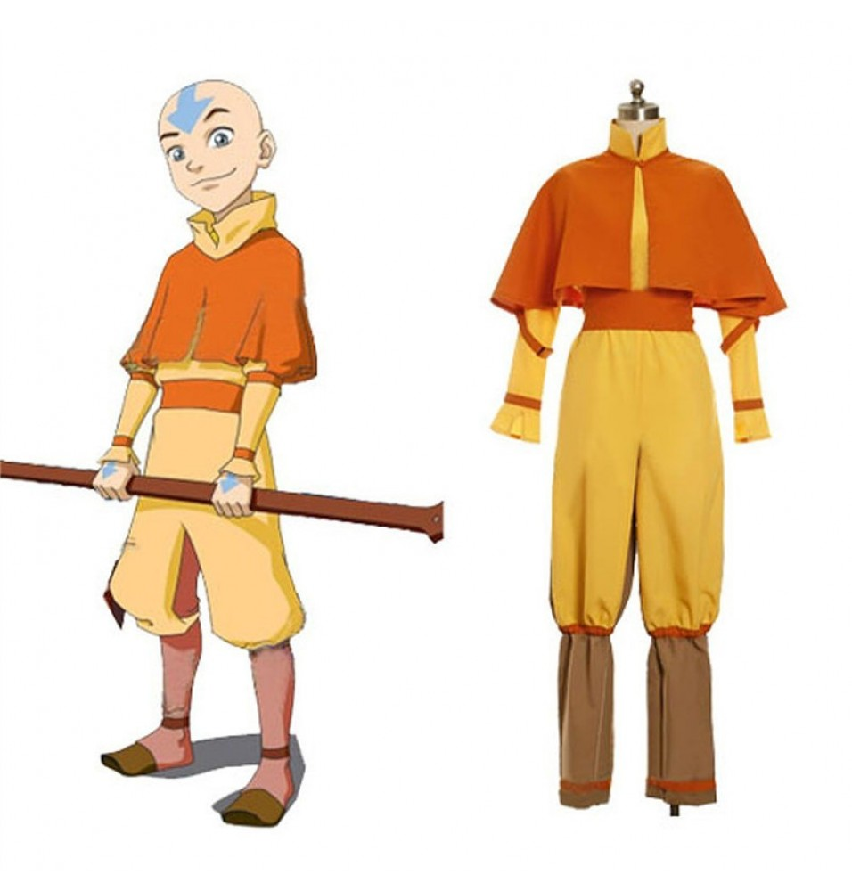 The Last Airbender Aang Cosplay Costume