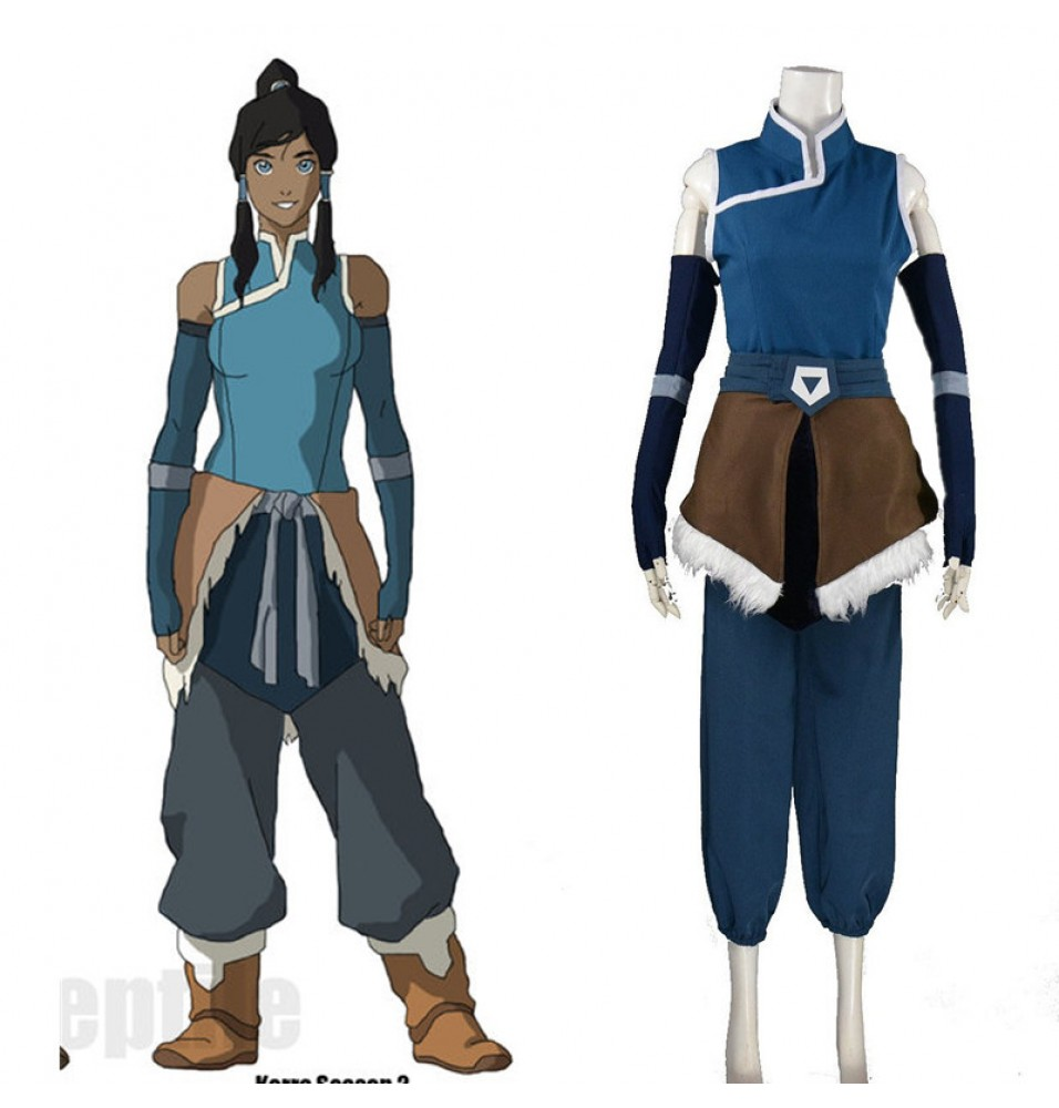 The Legend of Korra Season Cosplay Costume