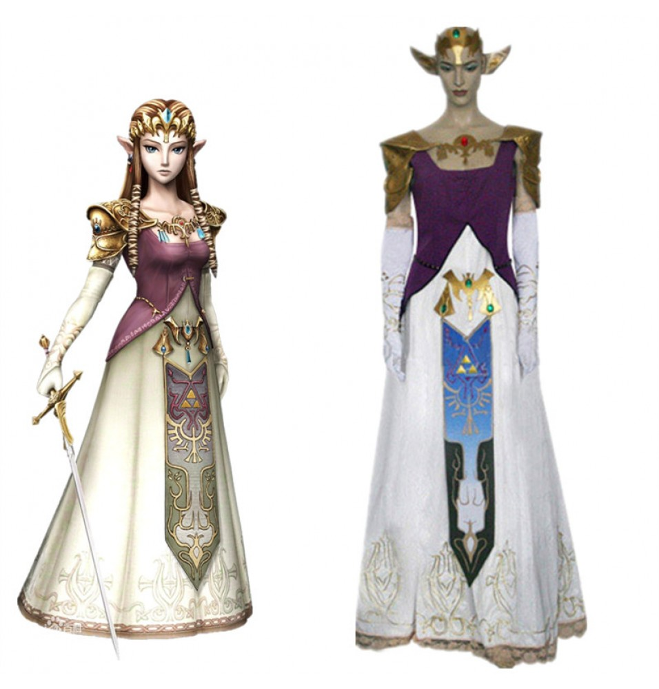 The Legend of Zelda Princess Zelda Dress Costume