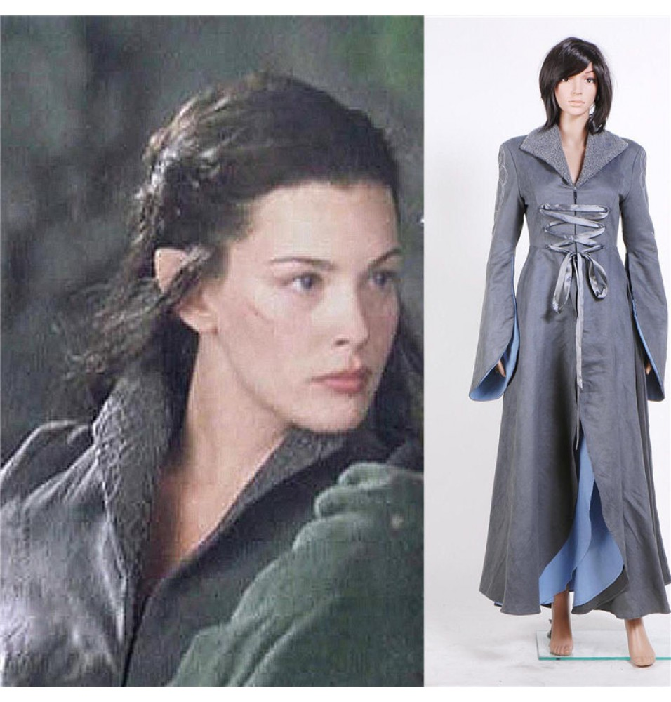 The Lord of the Rings Arwen Chase Long Dress Coplay Costume