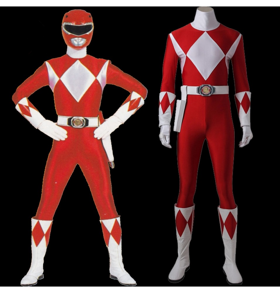 Tyranno Ranger Geki Cosplay Costume Power Rangers Geki Jumpsuit Uniform