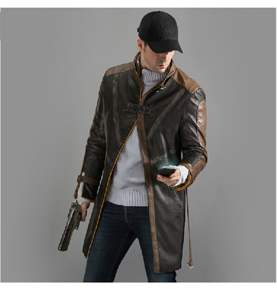 Watch Dogs Aiden Pearce Coat Costumes Cosplay