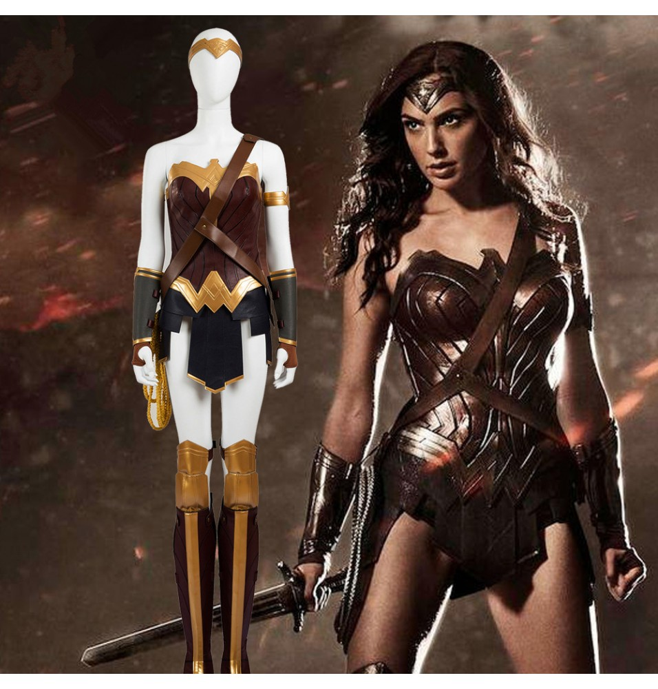 Wonder Woman Cosplay Deluxe Costumes