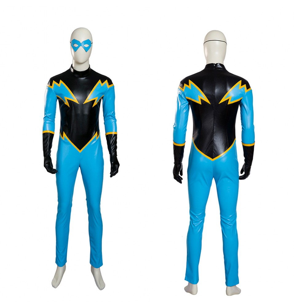 Young Justice Black Lightning Cosplay Costumes