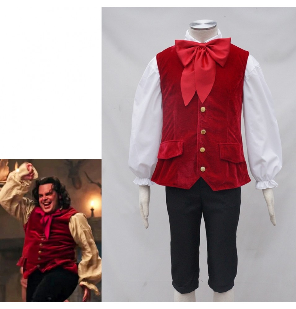 2017 Disney Movie Beauty And The Beast Lefou Cosplay Costume