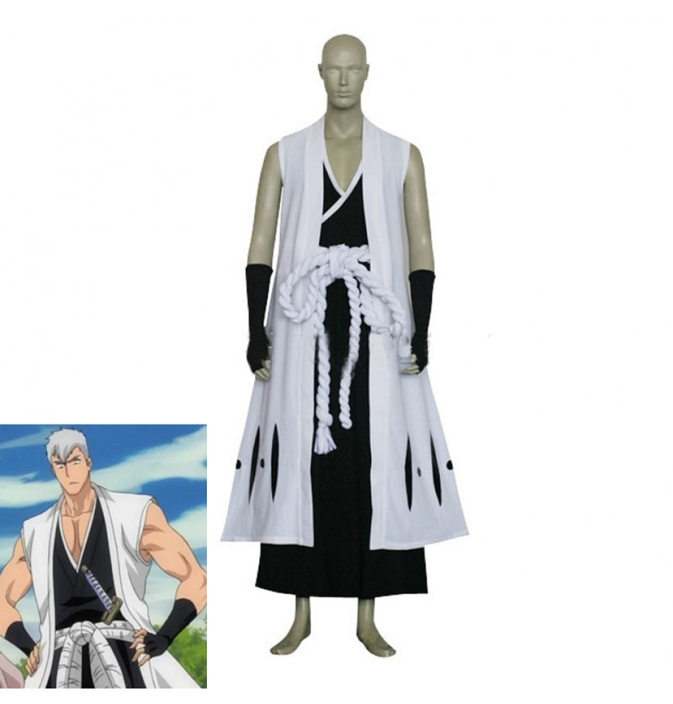 Anime Bleach Kensei Muguruma Cosplay Costume