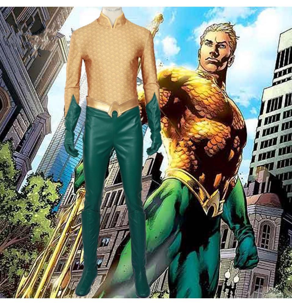 Arthur Curry Orin Costume Aquaman Cosplay Costumes