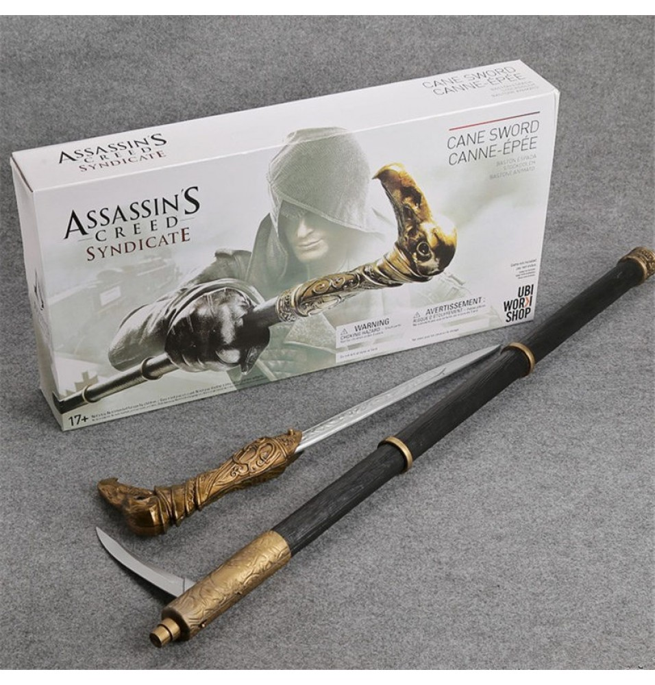 Assassin's Creed 6 Syndicate Cane Swords Cosplay