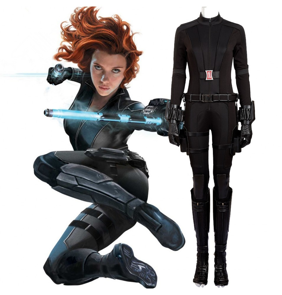 Captain America 3 Black Widow Natasha Romanoff Cosplay Costume