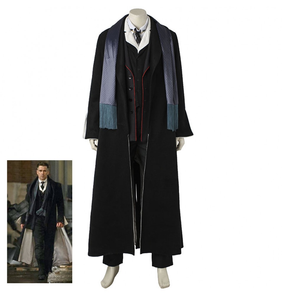 Fantastic Beasts and Where to Find Them Percival Graves Cosplay Costumes
