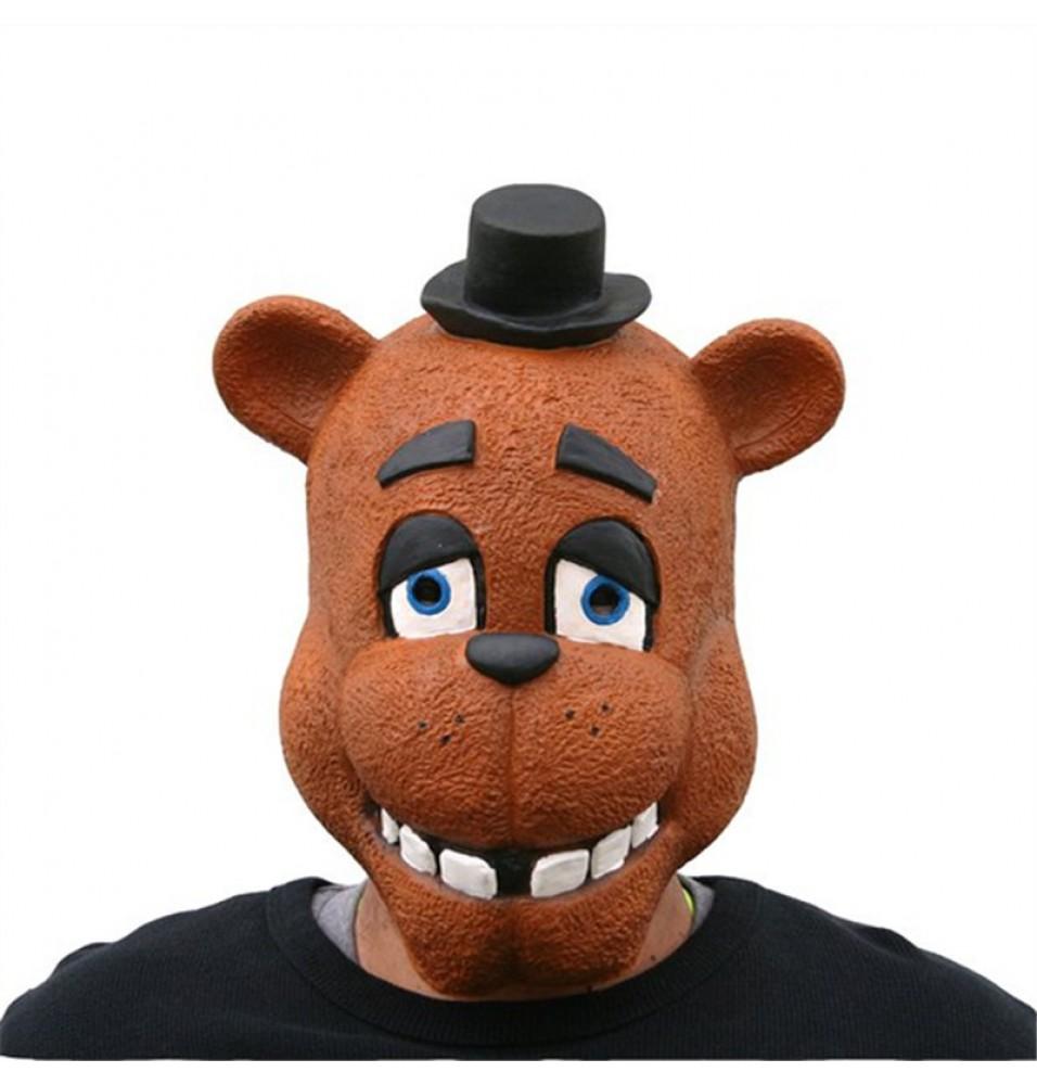 Five Nights at Freddy's Freddy Fazbear Foxy Latex Mask