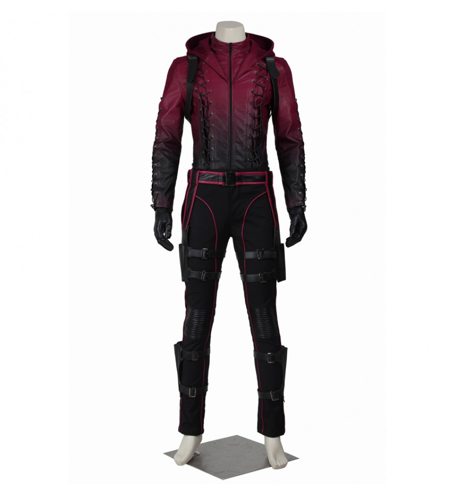 Green Arrow Season 3 Red Arrow Roy Harper Cosplay Costume