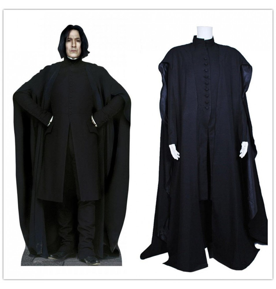 Harry Potter Severus Snape Coat Cosplay Costume