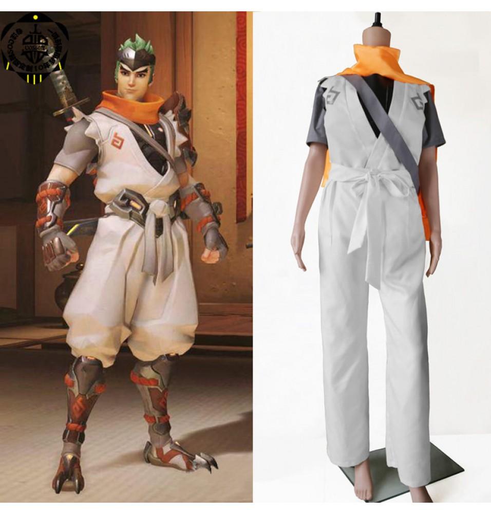 Overwatch Genji Cosplay Halloween Costumes