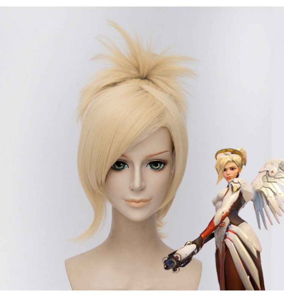 Overwatch Mercy Cosplay Wigs