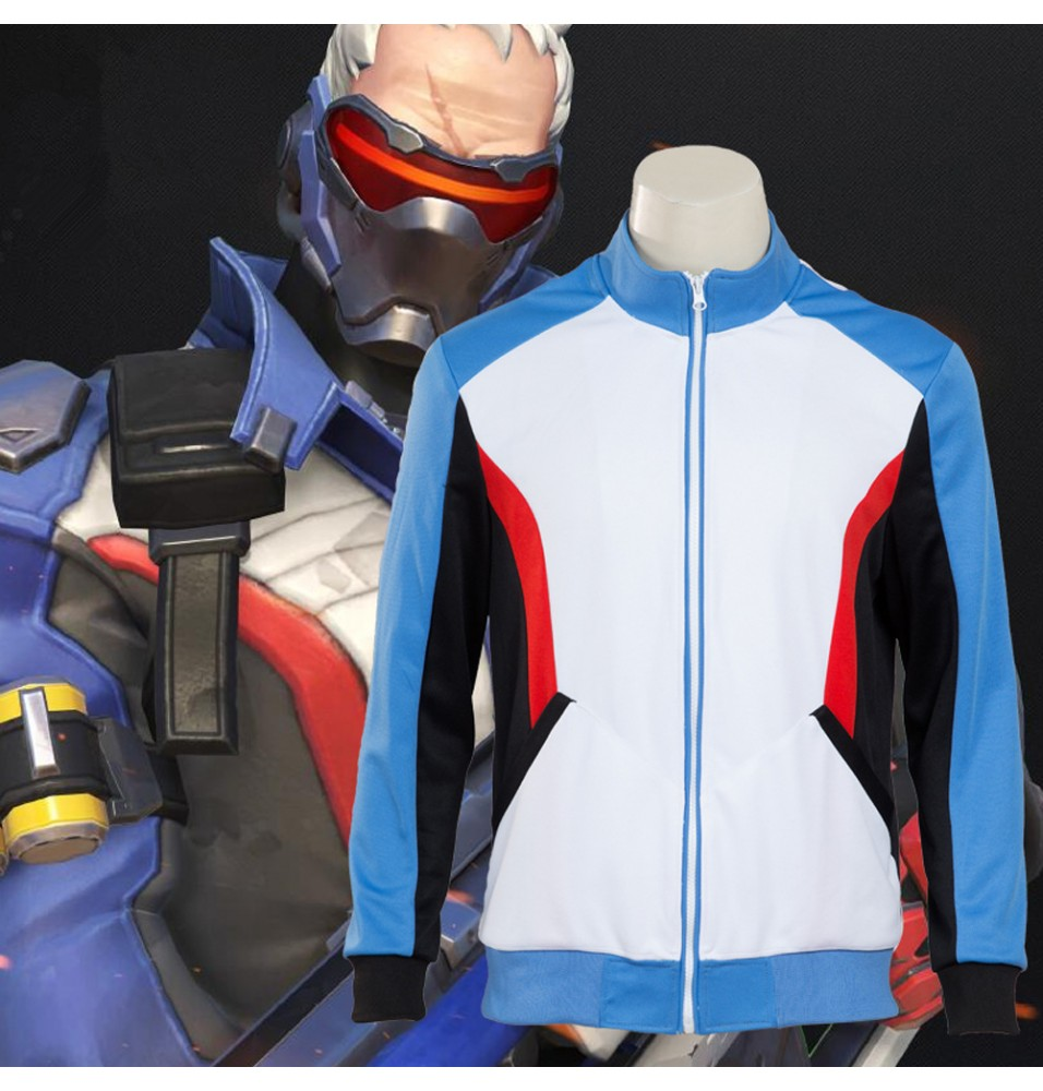 Overwatch Soldier 76 Jacket Costume