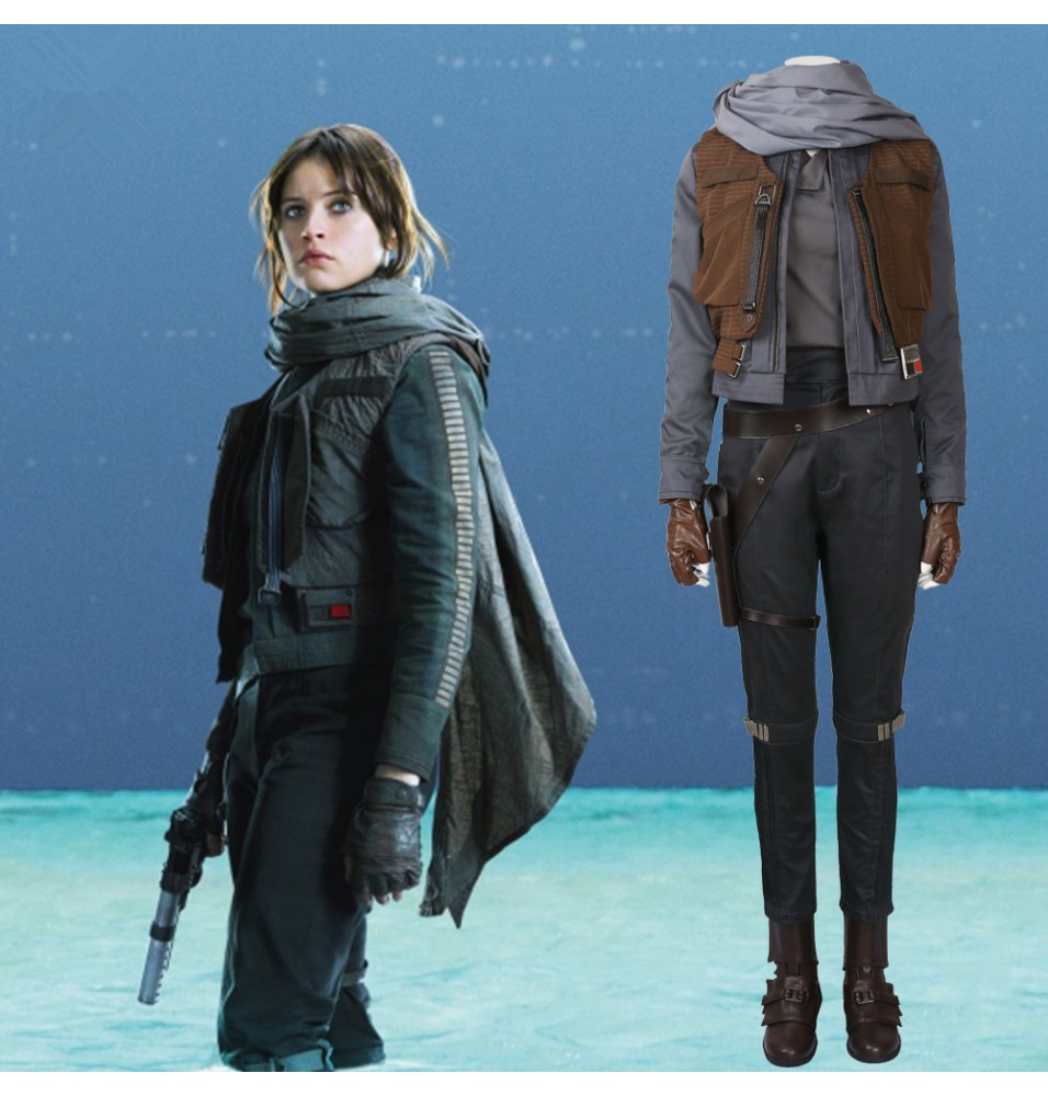 Rogue One: A Star Wars Story Jyn Erso Cosplay Costume - Deluxe Version