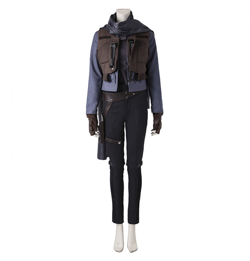 Rogue One A Star Wars Story Jyn Erso Cosplay Costume