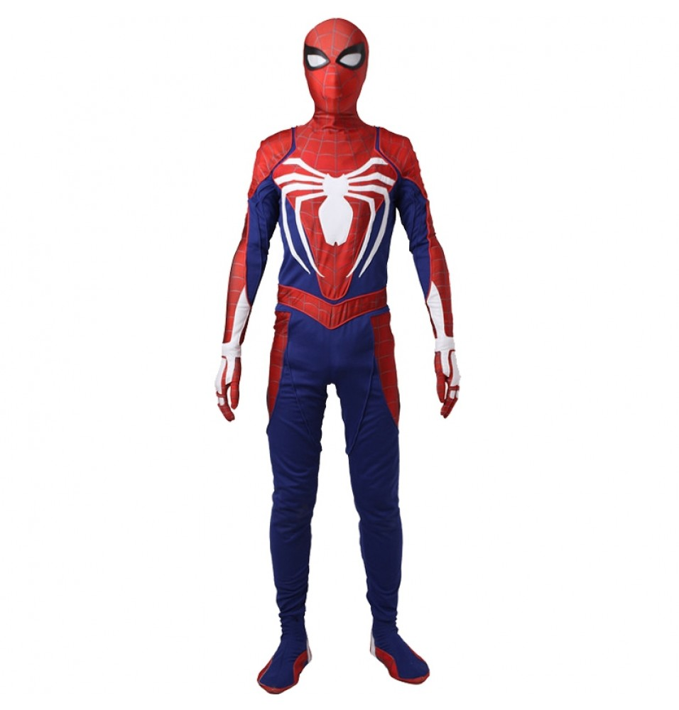Spiderman Jumpsuit Hot Game PS4 Spiderman Cosplay Costume - Deluxe Version