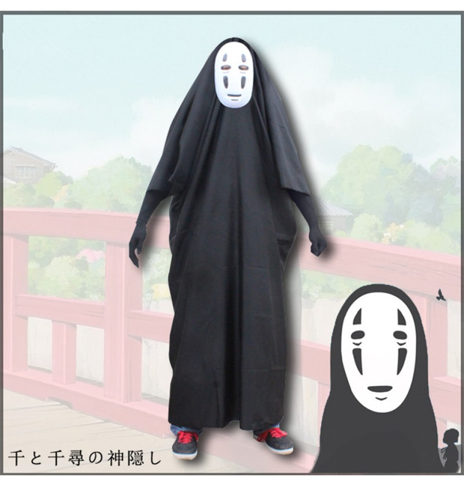 Spirited Away Cosplay No Face Cosplay Costume